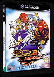 Sonic Adventure 2: Battle GameCube cover (GSNP8P)