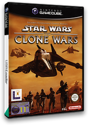 Star Wars: The Clone Wars GameCube cover (GSXP64)