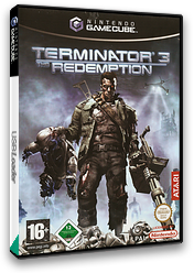 Terminator 3: The Redemption GameCube cover (GT6P70)