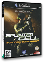 Tom Clancy's Splinter Cell: Pandora Tomorrow GameCube cover (GT7P41)