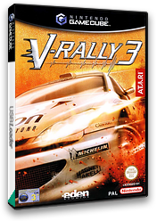V-Rally 3 GameCube cover (GV3P70)