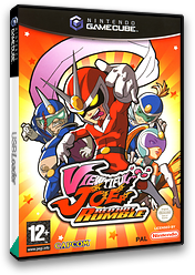 Viewtiful Joe: Red Hot Rumble GameCube cover (GVCP08)