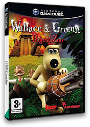 Wallace & Gromit : Project Zoo GameCube cover (GWLP6L)