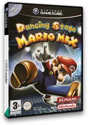 Dancing Stage Mario Mix GameCube cover (GWZP01)