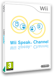 Wii Speak Channel Channel cover (HCFP)