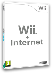 Wii + Internet Channel cover (HCGP)