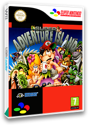 Super Adventure Island VC-SNES cover (JD7P)