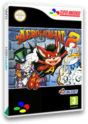 Aero the Acrobat 2 VC-SNES cover (JDXP)