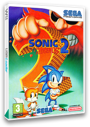 Sonic the Hedgehog 2 VC-MD cover (MBBP)