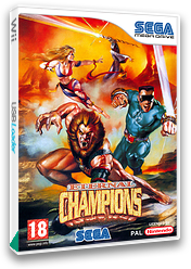 Eternal Champions VC-MD cover (MBZP)