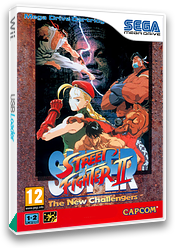 Super Street Fighter II: The New Challengers VC-MD cover (MC3P)
