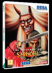 The Revenge of Shinobi VC-MD cover (MCYP)