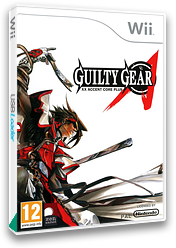 Guilty Gear XX Accent Core Plus Wii cover (R3NPH3)