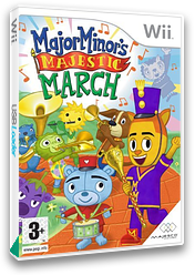 Major Minor's Majestic March Wii cover (R4NX5G)
