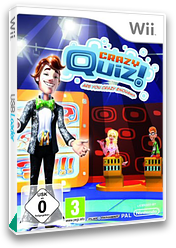 Crazy Quiz: Are You Crazy Enough? Wii cover (R8QPRT)