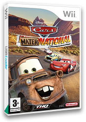 Cars: Mater-National Wii cover (RC2P78)