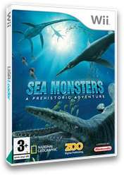 Sea Monsters: A Prehistoric Adventure Wii cover (RC7P7J)