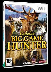 Cabela's Big Game Hunter Wii cover (RCBP52)