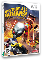 Destroy All Humans! Big Willy Unleashed Wii cover (RDHP78)