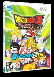 Dragon Ball Z Budokai Tenkaichi 3 Version! Latino CUSTOM cover (RDSZ70)