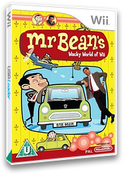 Mr Bean's Wacky World of Wii Wii cover (REBPMT)