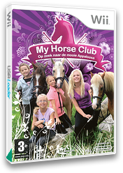 My Horse Club: On the Trail of the Mysterious Appaloosa Wii cover (REWXMR)