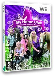 My Horse Club: On the Trail of the Mysterious Appaloosa Wii cover (REWYMR)