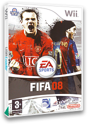 FIFA 08 Wii cover (RF8Y69)