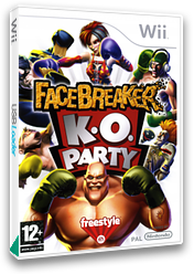 FaceBreaker: K.O. Party Wii cover (RFQP69)