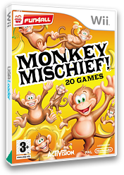 Monkey Mischief! 20 Games Wii cover (RFVP52)