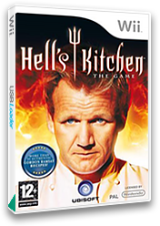 Hell's Kitchen Wii cover (RH2P41)
