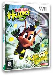 Agent Hugo: Lemoon Twist Wii cover (RHGX6Z)