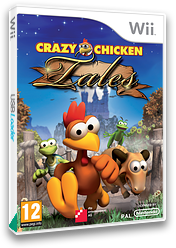 Crazy Chicken Tales Wii cover (RHVPFR)