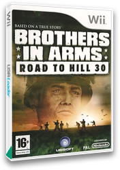 Brothers In Arms: Road To Hill 30 Wii cover (RI8P41)