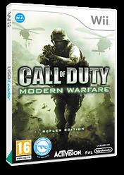 Call of Duty: Modern Warfare - Reflex Edition Wii cover (RJAX52)