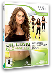 Jillian Michaels' Fitness Ultimatum 2009 Wii cover (RJFPKM)
