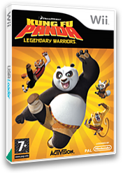 Kung Fu Panda: Legendary Warriors Wii cover (RKHP52)