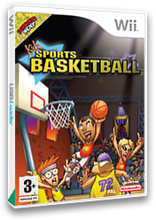 Kidz Sports: Basketball Wii cover (RKSPUG)