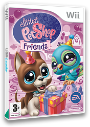 Littlest Pet Shop: Friends Wii cover (RL7P69)