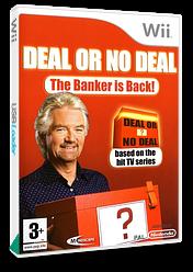 Deal or No Deal: The Banker Is Back Wii cover (RLADMR)