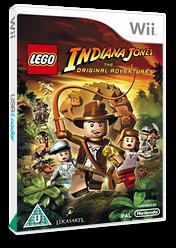 LEGO Indiana Jones:The Original Adventures Wii cover (RLIP64)