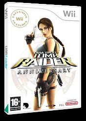 Tomb Raider: Anniversary Wii cover (RLRP4F)