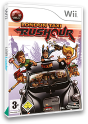 London Taxi: Rush Hour Wii cover (RLTXUG)