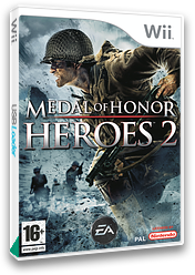 Medal of Honor: Heroes 2 Wii cover (RM2P69)