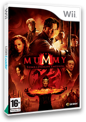The Mummy: Tomb Of The Dragon Emperor Wii cover (RM5P7D)