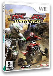 MX vs. ATV: Untamed Wii cover (RMXF78)