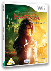 The Chronicles of Narnia: Prince Caspian Wii cover (RNNX4Q)