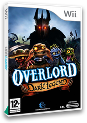 Overlord: Dark Legend Wii cover (ROAP36)