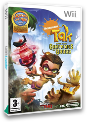Tak and the Guardians of Gross Wii cover (ROGP78)