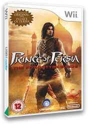 Prince of Persia: The Forgotten Sands Wii cover (RPWX41)